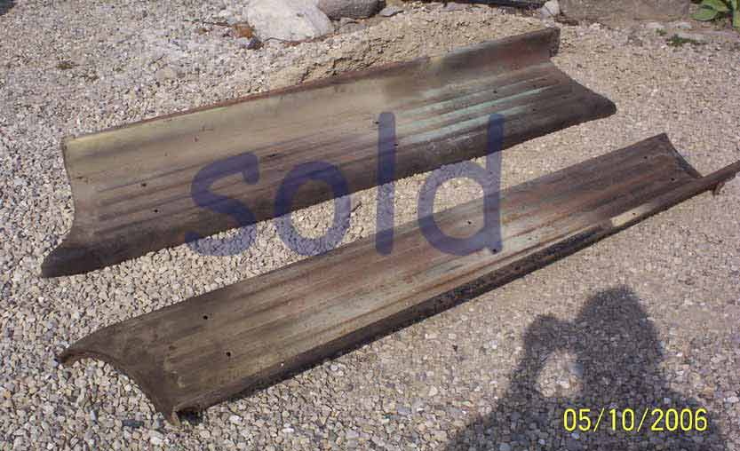 Ford truck running boards 1/2 ton only 1948 to 1952