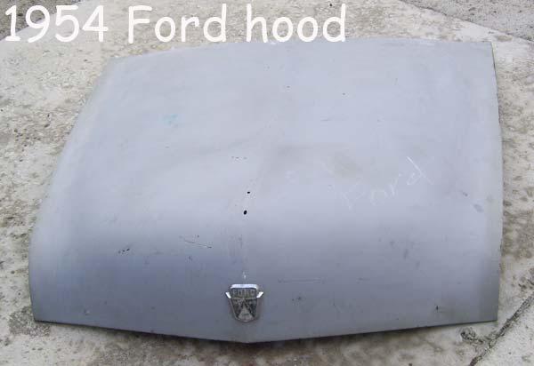 Ford hood 1954