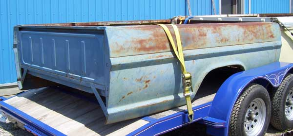 Ford 1967 long box bed