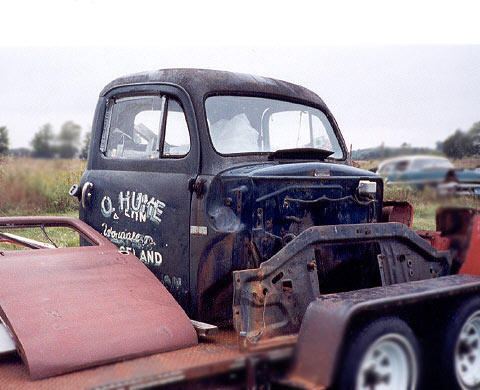 Ford Truck Cab 1948-50