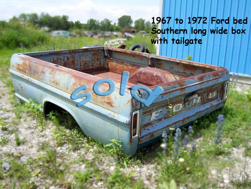 Ford truck bed 1967 to 1972