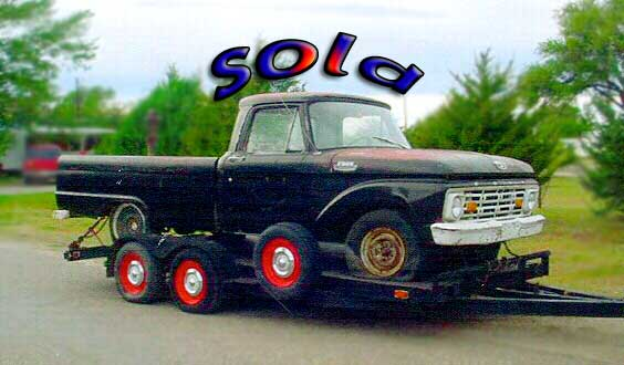 Ford pickup truck 1/2 ton, 6 cylinder, no motor, 3 speed standard for sale, nice southern body