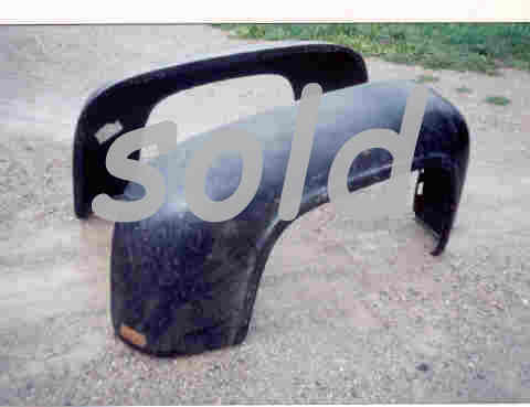 NOS Ford Rear pickup fenders