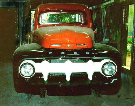 restored 1952 Ford pickup truck by Jim English