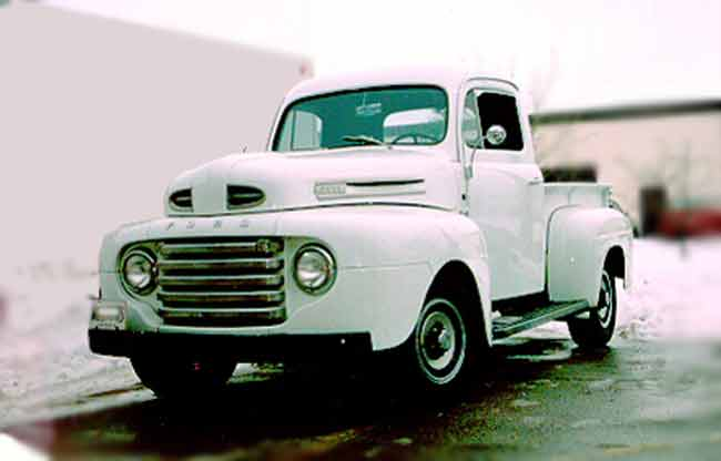 1950 Ford Pickup after restoraiton, owned by Joe Kiss London Ontario